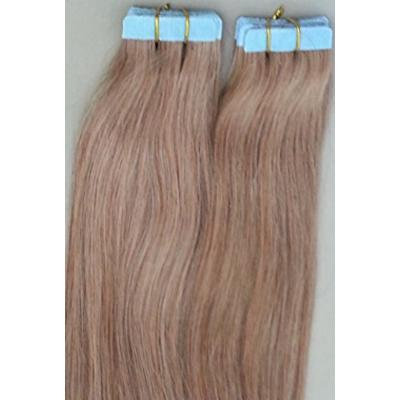 18 inches 100grs,40pcs, 100% Human Tape In Hair Extensions #12 Medium Ash Brown