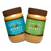Barney Butter Smooth and Crunchy Almond Butter, 16 Oz (Pack of 2)