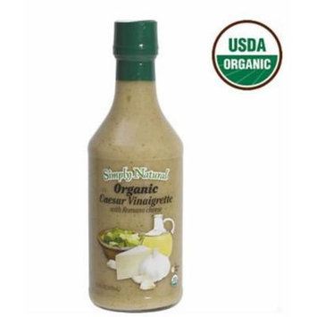 Simply Natural Organic Caesar Vinaigrette with Romano Cheese, 21 Fl Oz