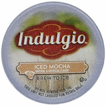 Indulgio Iced Mocha Single Serve Brew Kcups - 12ct
