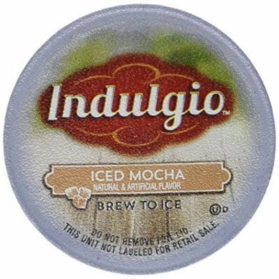 Indulgio Iced Mocha Single Serve Brew Kcups - 12ct