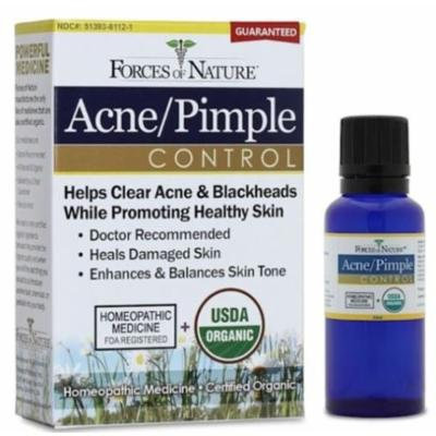 Forces of Nature Acne and Pimple Control, 33 ml