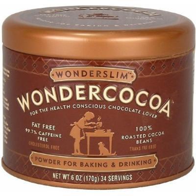 Wonderslim Wondercocoa Powder, 6 oz (Pack of 6)