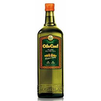 Olio Carli Pure Olive Oil. Six Three-quarter Liter (Over 25 Oz Each) Bottles