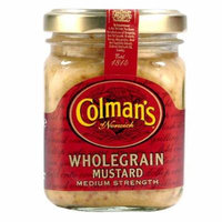 Colman's of Norwich Wholegrain Mustard Medium Strength 6 x 150ml