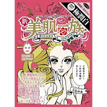 Bihada Ichizoku Brightening Face Sheet Mask 27ml