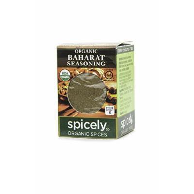 Spicely Organic Seasoning, Baharat Advieh - Compact