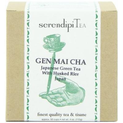 SerendipiTea Gen Mai Cha, Green Tea & Husked Rice, Japan, 50 Cups, 4 Ounce Box