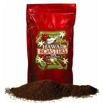 Hawaii Roasters Award Winning Farm Roasted 100% Kona Coffee, Ground, Medium Roast, 14-Ounce Bag