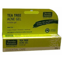 (Pack of 2) Thursday Plantation Tea Tree Acne Gel 10g (0.35 Oz) , Made in Australia , dry out acne and pimples ,Ideally for whiteheads, blackheads, pimples and acne