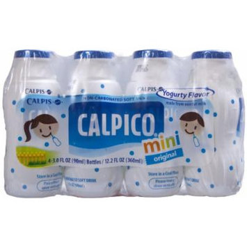 Calpico Mini Original Soft Drink, 3-Fluid Ounce (Pack of 5)