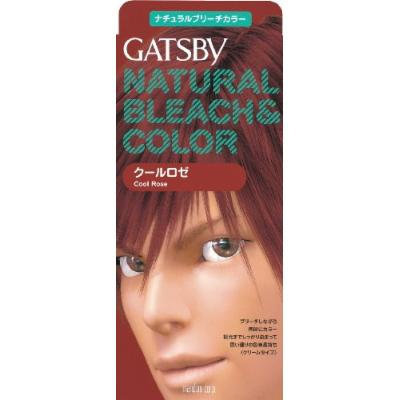 GATSBY Natural Bleach Color Cool Rose