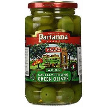Partanna Castelvetrano Green Olives In Brine 10.6 oz.