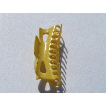 Large Claw Hair Clips Jumbo Hair Clips (Yellow)