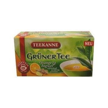 Teekanne Orange Ginger Green Tea - Pack of 2