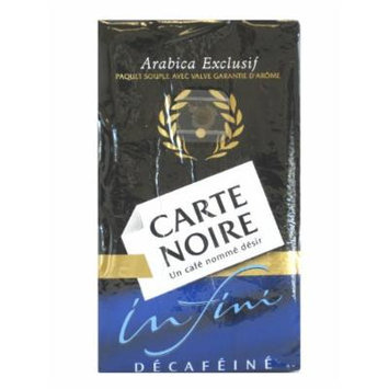Carte Noire Infini decaf ground coffee, 8.8-Ounce Packages (Pack of 2)