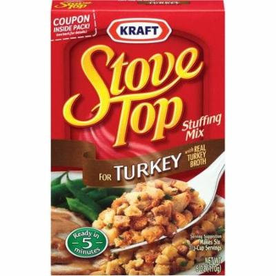 Kraft, Turkey, Stove Top, Stuffing Mix, 6 Oz (Pack of 3)