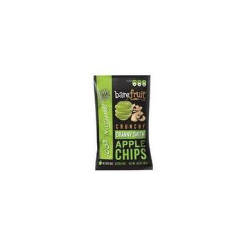 Bare Fruit Crunchy Apple Chips Granny Smith 48-Gram Bags (Pack of 10)