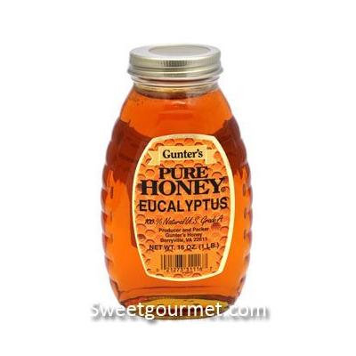 Gunter's Pure Eucalyptus Honey, 16 Oz