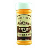 Amish Country Popcorn Ballpark Style Buttersalt Seasoning Salt 6 oz. (Pack of 3)