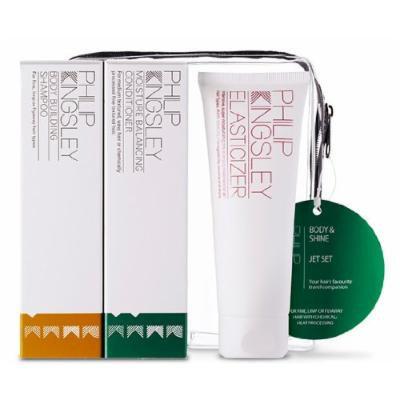 Philip Kingsley - Hair Care -Body & Shine Jet Set: Shampoo 75ml + Conditioner 75ml + Elasticizer 75ml 3pcs Philip Kingsley