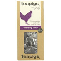 Teapigs Everyday Brew English Break - Made of Whole Leaf Only - 15 Teabags (Pack of 2)