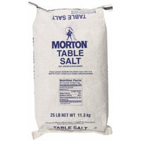 Morton Table Salt, 25 Pound