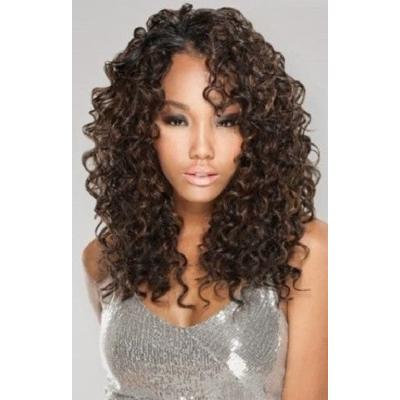 Q DIO LONG 5PCS - MilkyWay Que Human Hair MasterMix Weave Extensions #2 Dark Brown