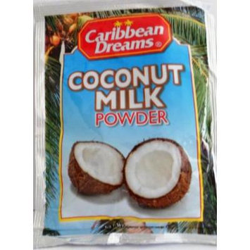 Caribbean Dreams Coconut Milk Podwer Net Wet 1.76 OZ (50 g) (Pack of 12)