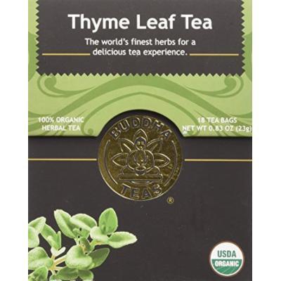 Thyme Leaf Tea - Organic Herbs - 18 Bleach Free Tea Bags