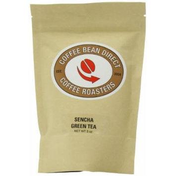 Coffee Bean Direct Sencha Green Loose Leaf Tea, 5 Ounce Bags (Pack of 4)