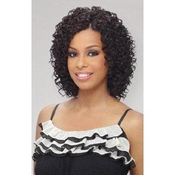 MilkyWay Que BEACH CURL 3PCS Human Hair MasterMix Weave Extension #1B/30