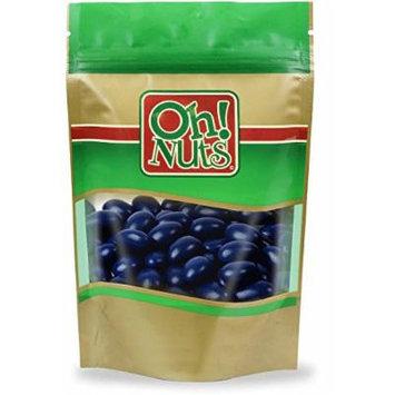 Navy Blue Jordan Almonds 5 Pound Bag - Oh! Nuts