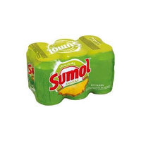 Sumol Ananas Pineapple Soda Portugal 11.15 oz. Cans 6 pack