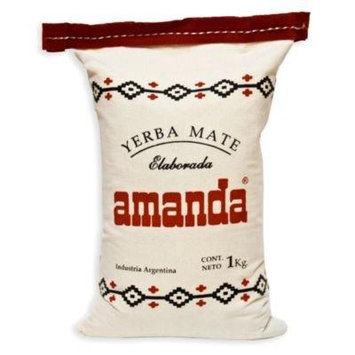 Amanda Yerba Mate in Cloth Bag (2.2 lbs/1 kilo)