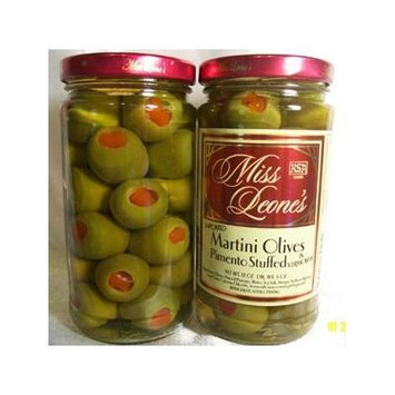 Martini Pimento Stuffed Gourmet Queen Spanish Olives 12 oz. Jar