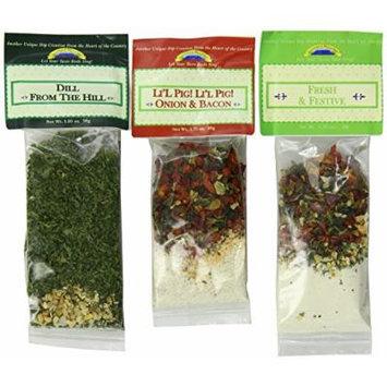 Leonard Mountain 3-Flavor Veggie Dip Sampler (Pack of 2)