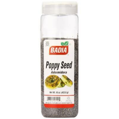 Badia Poppy Seed, 16 Ounce (Pack of 6)