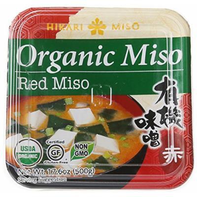 Hikari ORGANIC Red Miso Paste - 1 tub, 17.6 oz