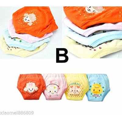 Generic Strongly Recommended 4pcs Baby Potty Training Pants