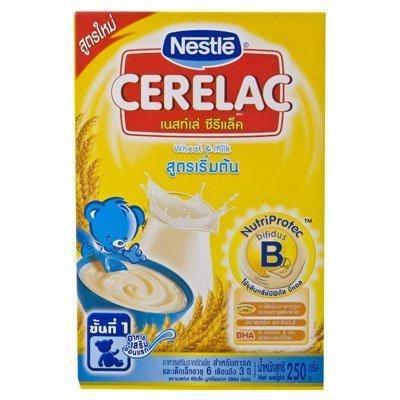 Nestlé Cerelac Baby Food Wheat & Milk 250g