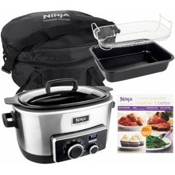 Ninja 4-in-1 6 qt. Multi-cooker with Recipe Book & Travel Bag