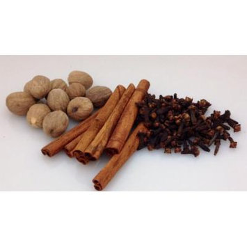 Bakto Flavors Whole Spices Collection - Cinnamon Sticks (2.1 OZ), Whole Nutmeg (3.5 OZ), Whole Cloves (3.2 OZ)