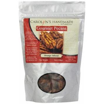 Carolyn's Handmade Gourmet Platinum Snack Bag, Orange Pecans, 8 Ounce