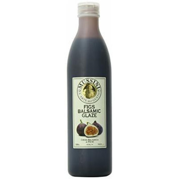 Mussini Crema, Balsamic Glaze with Figs, 16.9-Ounce Bottles (Pack of 2)
