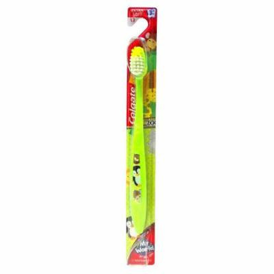 Colgate Extra Soft Children's Toothbrush - My World, At the Zoo (12 Pack)