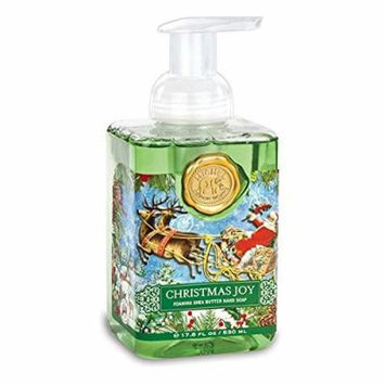 Michel Design Works Christmas Joy Foaming Shea Butter Hand Soap 17.8 Fl Oz