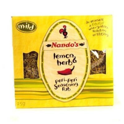 Nando's Lemon & Herb Peri-Peri Seasoning Rub 25G