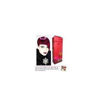 Special Sets : Premium Permanent Hair Color Cream Dye Dark Blonde Red Reflect Punk Goth 6/5