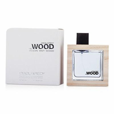 Dsquared2 He Wood Ocean Wet Wood Eau de Toilette Spray for Men, 1.7 Ounce